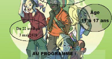 Vacances de printemps / club jeunesse