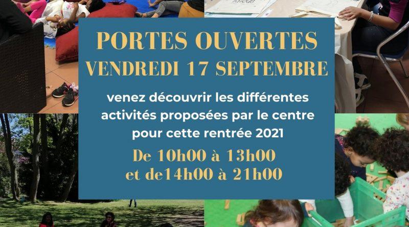 Portes ouvertes 2021 au CSC Lamartine